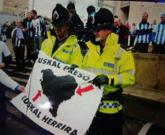 Polémique : La police mancunienne favorable à l'indépendance du Pays Basque ?