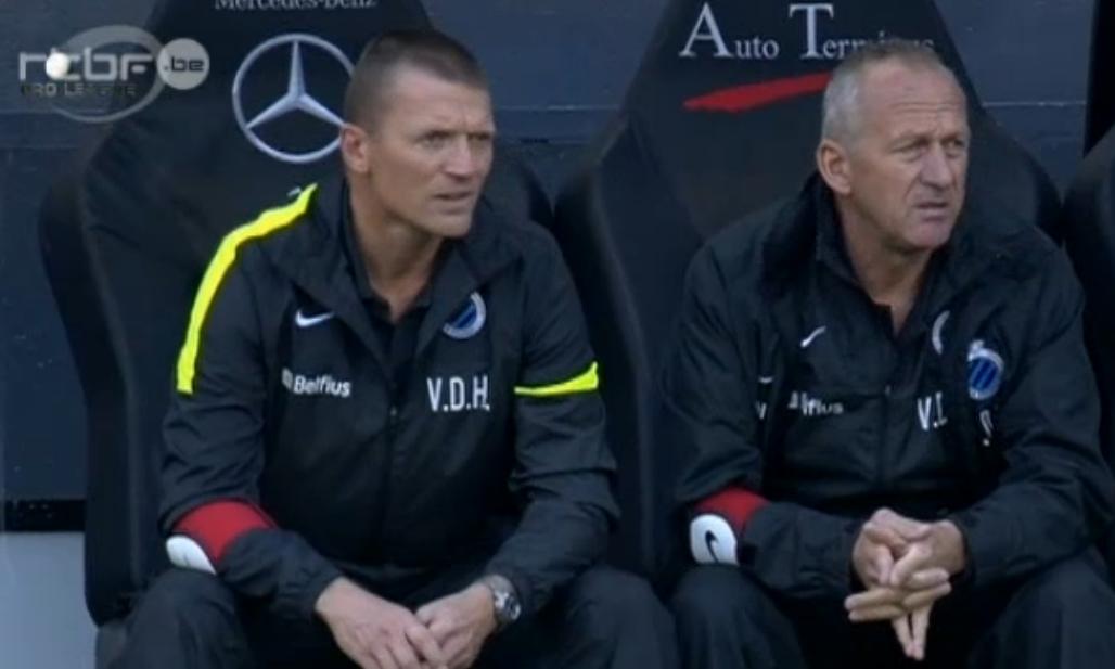 Michel Preud'homme suspendu, c'est Stephan van der Heyden, l'ancien lillois, qui s'installe sur le banc. Pour faire face à son inexpérience, Scolari s'est rasé la moustache et sera son adjoint lors du match contre l'équipe du bel homme.