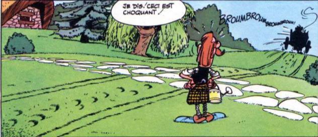 Image result for astérix chez les bretons
