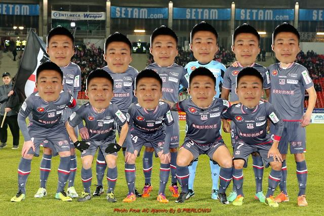 En exclusivité, l'équipe 2014/2015 de l'AC Ajaccio après l'intervention chinoise.
