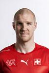 Schweizer Fussball Nationalmannschaft. Philippe Senderos
