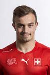 Schweizer Fussball Nationalmannschaft.Xherdan Shaqiri