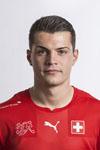 Schweizer Fussball Nationalmannschaft.Granit Xhaka