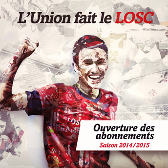 Le slogan de la campagne d'abonnements s'inspire de la devise de la Belgique « L'union fait la force »