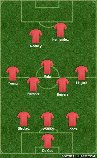 Man Utd - Swansea 160814
